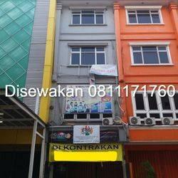 Ruko Jalan Kramat Raya Seberang Islamic Center 67m2 BISA NEGO