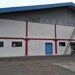 Bangunan Pabrik Strategis di Balaraja Tangerang Banten