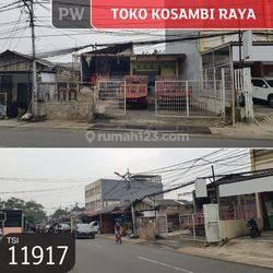 Toko Kosambi Raya, Jakarta Barat, 10x18, 1 Lt, SHM