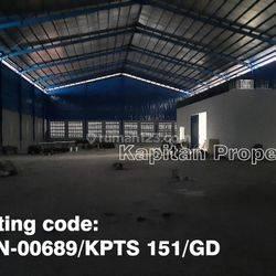 Gudang Baru di Jurumudi Bandara Soetta, Tangerang