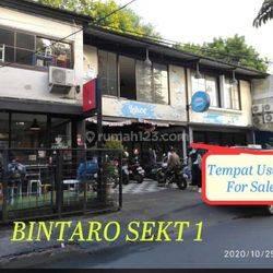 Rumah Usaha Bintaro Jakarta Selatan