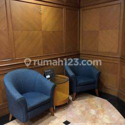 Office space furnished siap pakai di  menara sudirman Jakarta Selatan luas 436 dengan 12 ruangan