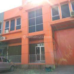 Gudang Lodan Center Ancol HGB Murni ada Office Murah