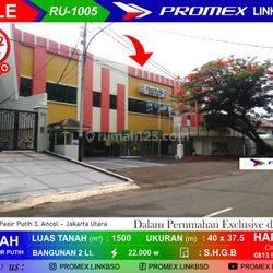 Hotel Pasir Putih Ancol - Hitung Tanah