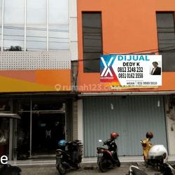 Ruko hdp jalan raya lokasi bagus di kota Semarang