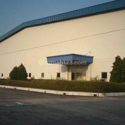 Pabrik masih aktif dengan luas 110x216 dikawasan MM 2100 Cikarang Selatan Bekasi