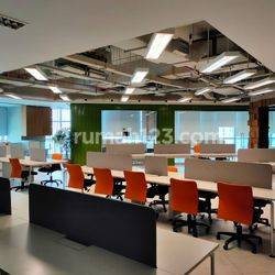 BAGUSSS!!! OFFICE SPACE 376m² APL TOWER @Central Park, Podomoro City
