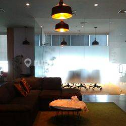 SUPER DUPER MURAHHH!!! OFFICE SPACE 143.36m2 APL TOWER SEMI FURNISHED @Central Park, Podomoro City