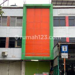 Ruko Jalan Mangga Besar 8, 3 lantai + parkir, ready