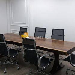Murah Office Space 414 sqm Lippo St. Moritz Furnished at Jakarta Barat.