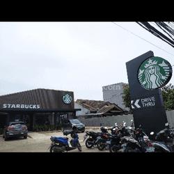 Lahan tersewa starbuck murah dan produktif dibawah pasaran Banjar Wijaya