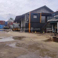 Kavling ada kantor 1 lantai dan Gudang , Harga Nego di Cilincing Marunda