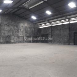 Gudang Daan Mogot Cengkareng Luas 720 m2 Bebas Banjir Siap Pakai