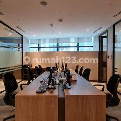 OFFICE SPACE GRADE A Sudirman 7.8, Jakarta Pusat Lt16 Fully Furnished (And'Sbd)