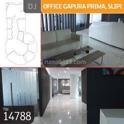Office Gapura Prima, Slipi, Jakarta Barat, 424,34 m², Lt 5, HGB