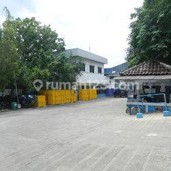 A Big Industrial Factory Located In Ancol Area, North Jakarta