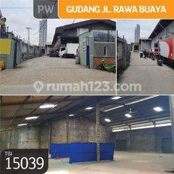 Gudang Jl. Rawa Buaya, Jakarta Barat, 25x29m,1 Lt, SHM