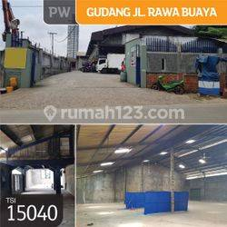Gudang Jl. Rawa Buaya, Jakarta Barat, 790 m²,1 Lt, SHM