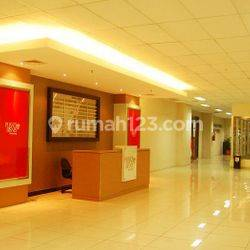 Kantor Thamrin City Lantai 7 luas 30m ada ruang meeting fully furnished
