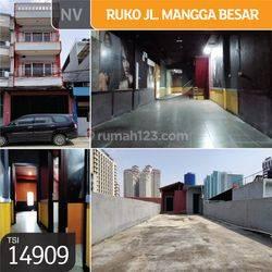 Ruko Jl. Mangga Besar, Jakarta Barat, 4,5x27,5m, 3½ Lt, SHM