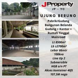 Gudang dan Pabrik di Ujung Berung, Bandung.