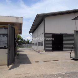Gudang dan Kantor, lt. 2080 m2/ lb. 1026 m2. Mekar Jaya.