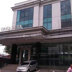 Ruang Kantor di Gedung Graha Beta luas 142 m2 Bendungan Hilir Jakarta Pusat