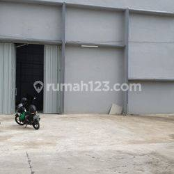Gudang di Tanjung Pura, Uk 30x23, Boleh utk industri, Masuk container 40', Harga : 350 jt perth Nego, Pegadungan, Kalideres, Jakarta Barat