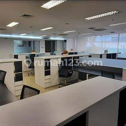 Office Full Furnished, Siap Pakai luas 435m2 di Blok M, Jakarta Selatan