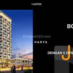 Apartemen bisnis untuk perkantoran di kawasan CBD Bandung luas murah strategis untuk investasi