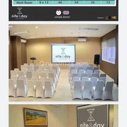 Hotel Nite & Day, Hotel Bintang 2 di Bandengan, LT 1.174 m2 / 2.689 m2, 6 lantai, Lokasi Strategis, Dekat Pusat Bisnis, Harga : 80 M Nego, Bandengan Selatan, Jakarta Utara