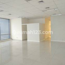 MURAH OFFICE SPACE 120 SQM UNFURNISHED SOHO CAPITAL @CENTRAL PARK