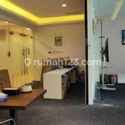 Ruang Kantor Furnished di Gold Cost Office PIK