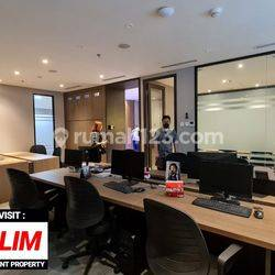 BRAND NEW OFFICE SPACE at SUDIRMAN 7.8 (FULL FURNISHED)