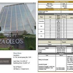 Gedung Perkantoran Plaza Oleos, Jl. TB.Simatupang, Jaksel