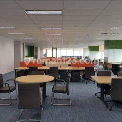OFFICE SPACE 1 LANTAI 1470,46 SQM FURNISHED AND BARE SOHO CAPITAL @CENTRALPARK