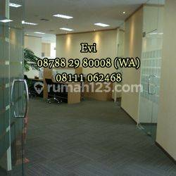 Ruang Kantor APL Tower Podomoro City Central Park Full Furnished Siap Pakai