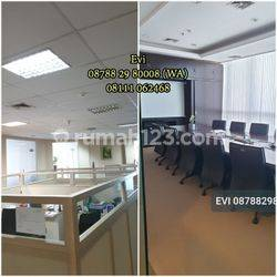 Office APL Tower Central Park High Zome Furnished Minimal 1 Tahun