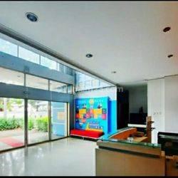 Gedung eks Kantor Media Cetak di Jl. H. Saaba Meruya