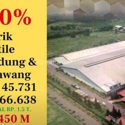 Pabrik textile dunia bandung dan kerawang | #0063
