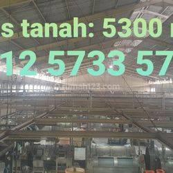 Gudang Arya Kemuning Luas tanah 5300, LB 4000 m2,Bagus Siap pakai, Priuk, Tangerang