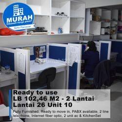 DIJUAL Ruang Kantor ( Office Space ) di SOHO Pancoran - Jakarta Selatan