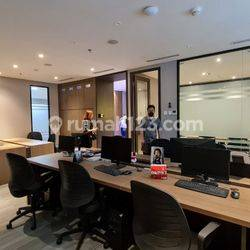 OFFICE SPACE GRADE A Sudirman 7.8, Jakpus Lt16 Fully Furnished