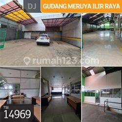 Gudang Meruya Ilir Raya, Srengseng, Jakarta Barat, 13x50m