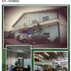 Ex Pabrik Madu di Sunter Muara-Sunter Agung, Tanjung Priok, Jakarta Utara