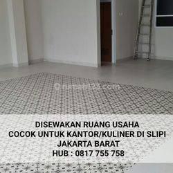 Ruang Usaha Cocok untuk kantor atau Kuliner Di Slipi Jakarta Barat