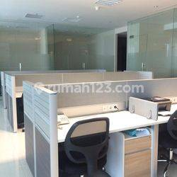 BAGUSSS!!! OFFICE SPACE 223 SQM APL TOWER @CENTRAL PARK, PODOMORO CITY