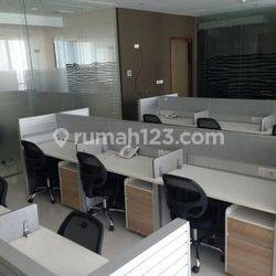 BAGUSSSS OFFICE SPACE 223 SQM APL TOWER @CENTRAL PARK, PODOMORO CITY