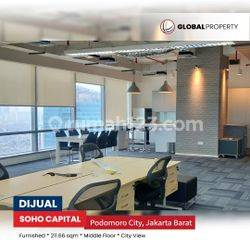 Podomoro City, Ruang Kantor SOHO Capital Office Tower Central Park Middle Zone
