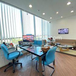 BAGUSSS!! OFFICE SPACE 333 SQM FURNISHED APL TOWER @CENTRAL PARK